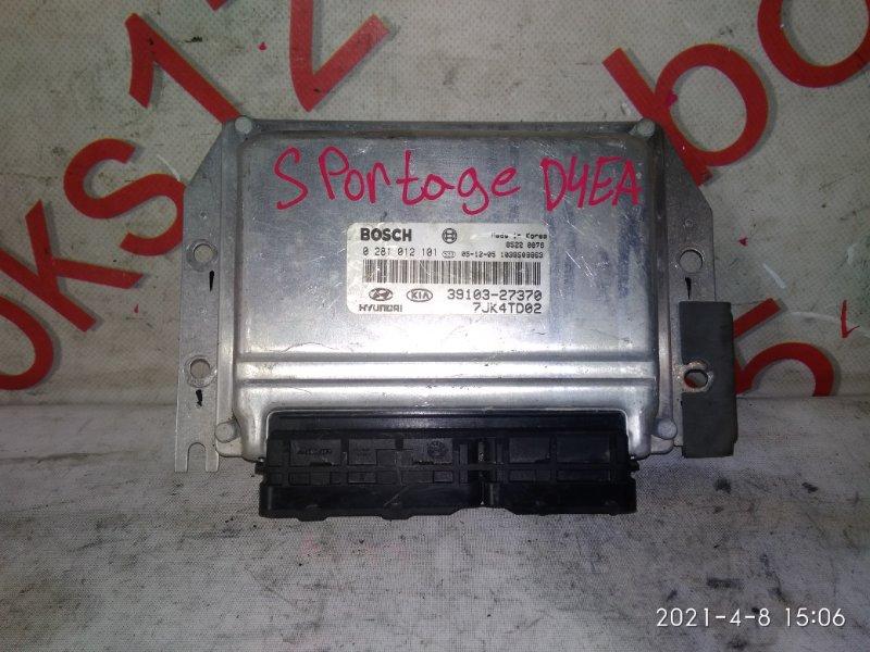 Блок управления двигателем Kia Sportage D4EA 2006