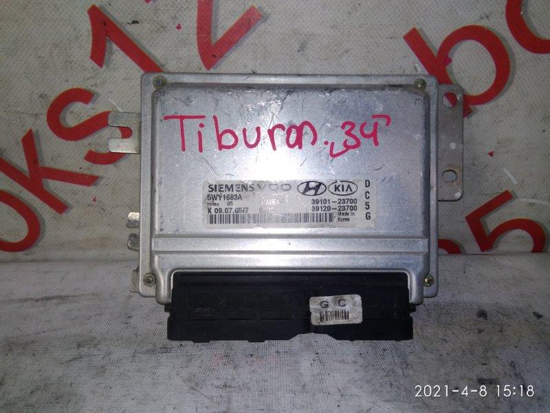 Блок управления двигателем Hyundai Tiburon