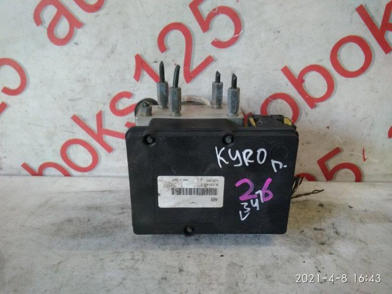 Блок abs Ssangyong Kyron DJ D20DT (664) 2007