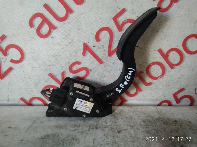 Педаль газа Hyundai Santa Fe CM D4EB 2007