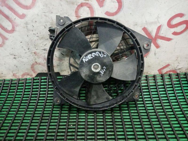 Вентилятор радиатора кондиционера Ssangyong Korando KJ OM662 (662 910) 2003