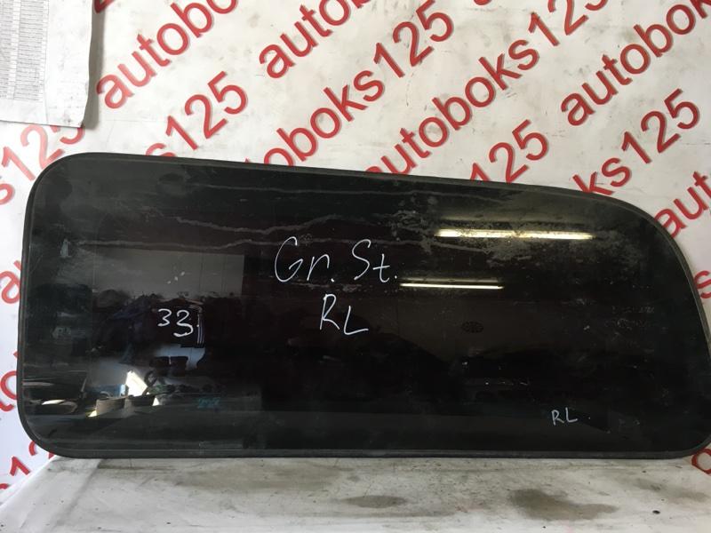 Стекло собачника Hyundai Starex A1 2003 заднее левое