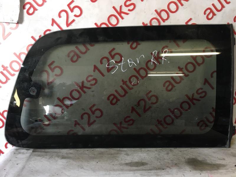 Стекло собачника Hyundai Starex A1 2003 заднее правое