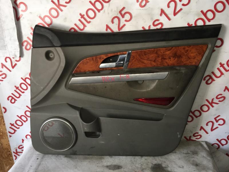 Обшивка двери Ssangyong Rexton 2005 передняя правая