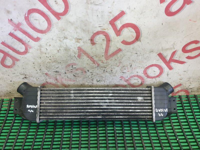 Радиатор интеркулера Ssangyong Rodius D27DT 2007