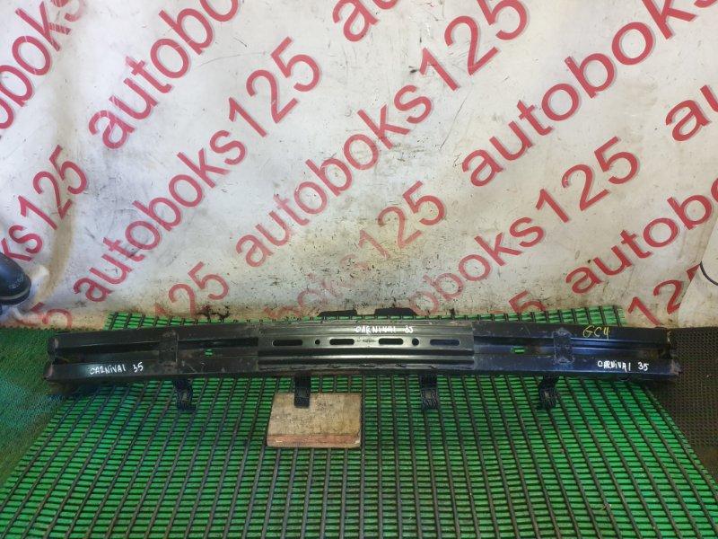 Усилитель бампера Kia Carnival VQ J3 2008 передний