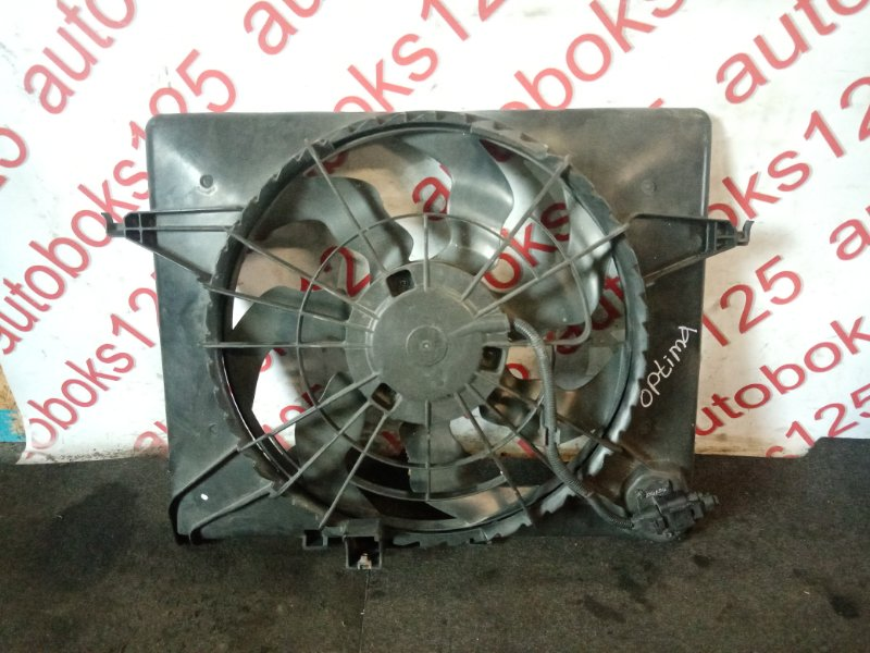 Диффузор радиатора двс Kia Optima 2012