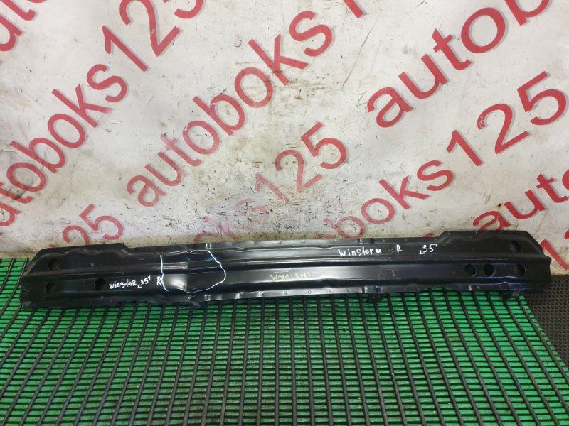 Усилитель бампера Daewoo Winstorm KLAC Z20S 2008 задний