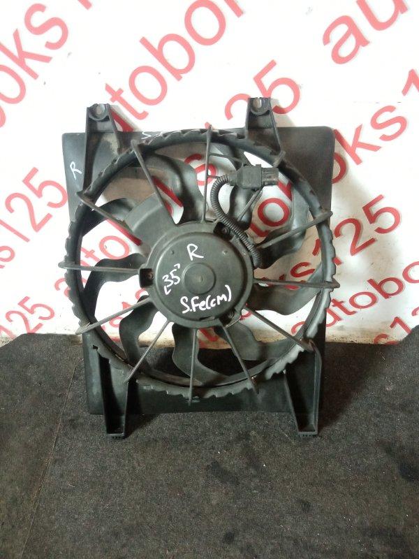 Диффузор радиатора двс Hyundai Santa Fe CM D4EB 2007 правый