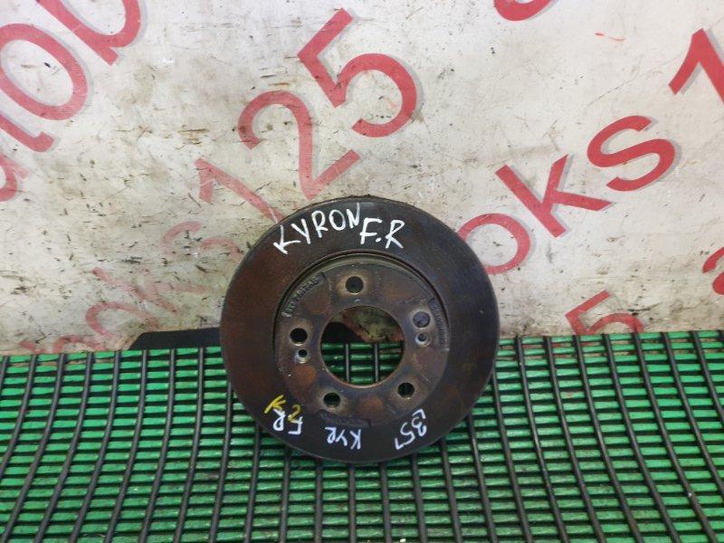 Тормозной диск Ssangyong Kyron DJ D20DT (664) 2006 передний правый