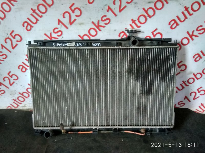 Радиатор двс Hyundai Santa Fe CM D4EB 2007