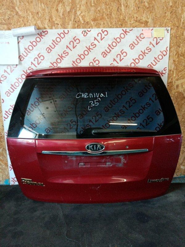 Дверь 5-я Kia Carnival VQ 2008