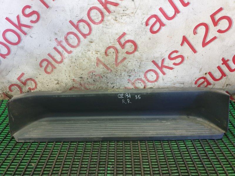 Подножка Hyundai Grand Starex TQ D4CB 2009 задняя правая