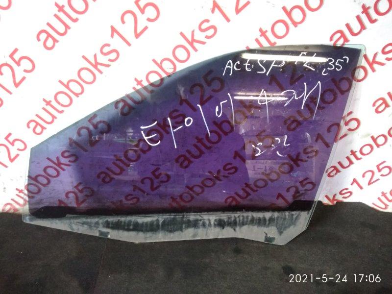 Стекло двери Ssangyong Actyon Sports 2007 переднее левое
