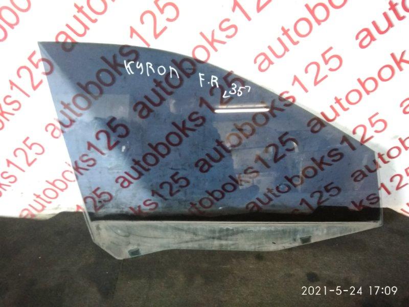 Стекло двери Ssangyong Kyron DJ 2007 переднее правое