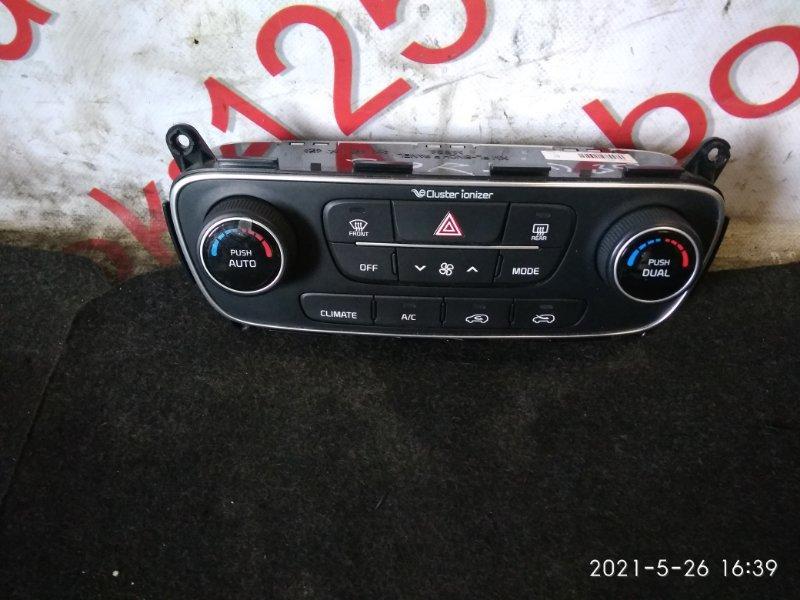Блок управления климат-контролем Kia Sorento XM 2013