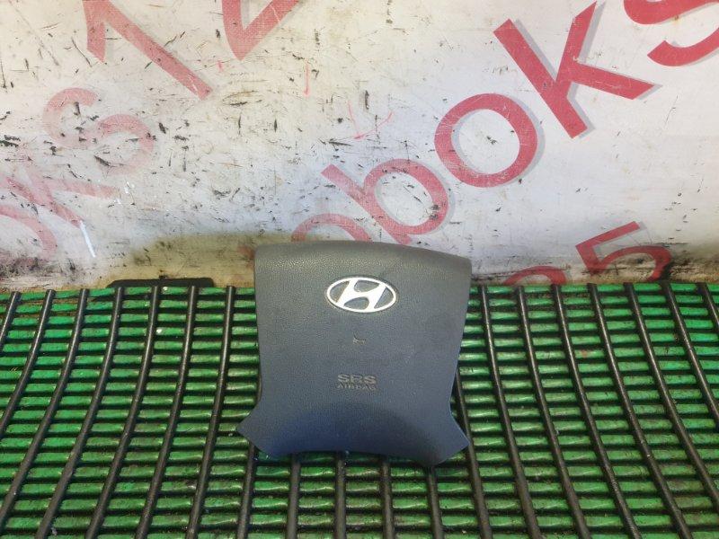 Подушка безопасности водителя Hyundai Grand Starex TQ D4CB 2009