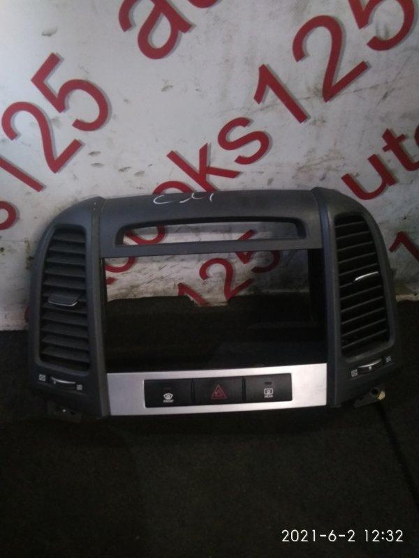 Консоль магнитофона Hyundai Santa Fe CM 2008