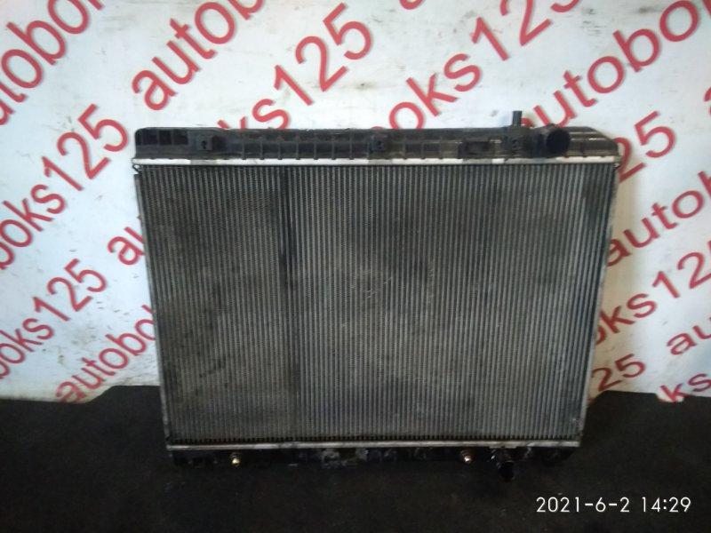 Радиатор двс Kia Carnival VQ J3 2009