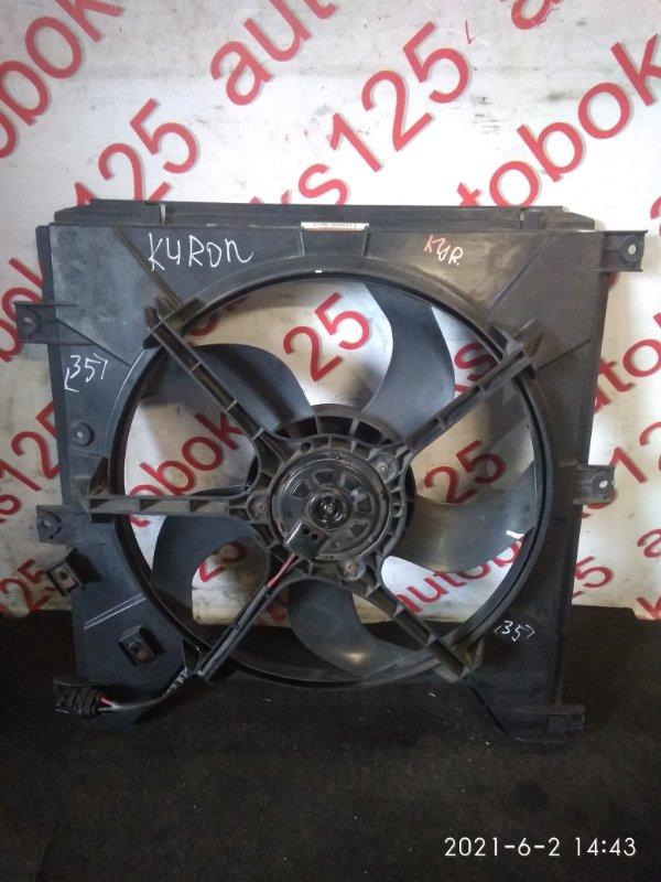 Диффузор радиатора двс Ssangyong Kyron DJ D20DT (664) 2009
