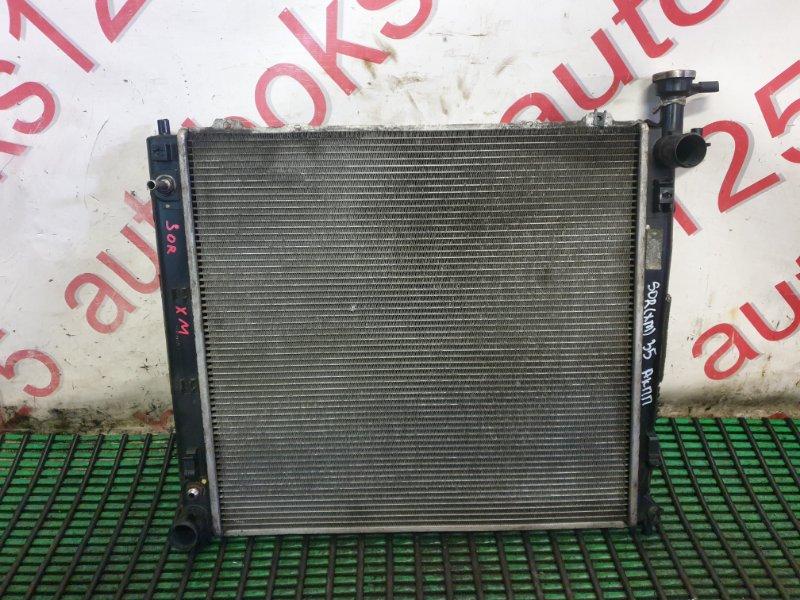 Радиатор двс Kia Sorento XM D4HA 2013