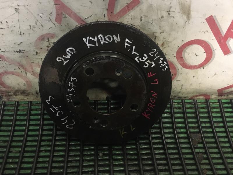 Тормозной диск Ssangyong Kyron DJ 2009 передний левый