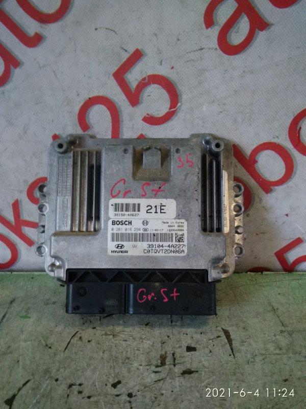 Блок управления двигателем Hyundai Grand Starex TQ D4CB 2008