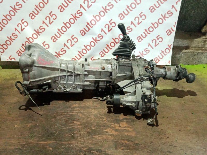 Мкпп Hyundai Galloper JK D4BF 2002