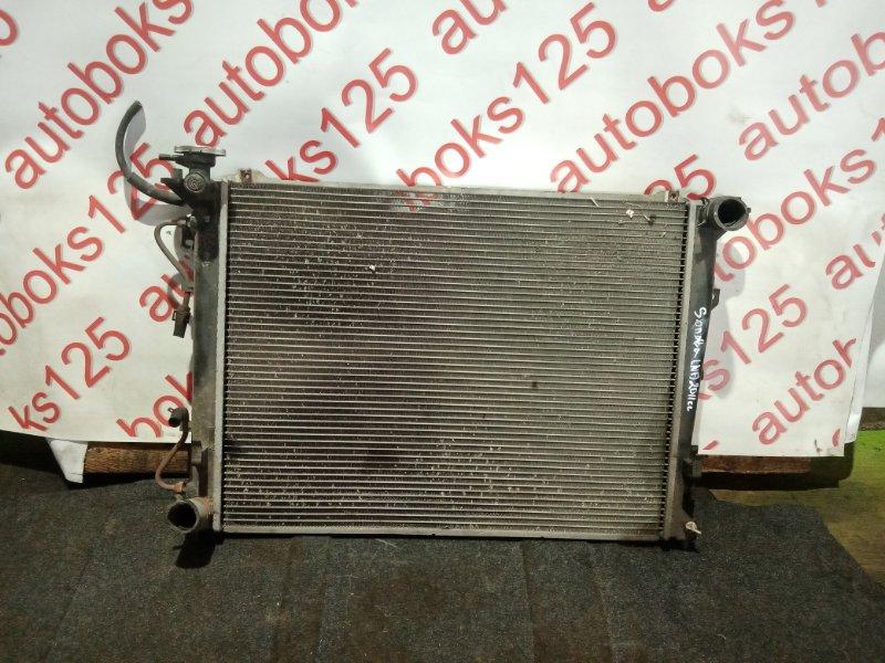 Радиатор двс Hyundai Sonata NF G4KA 2008