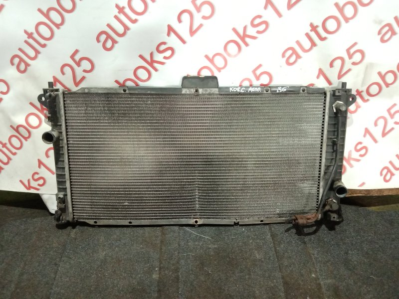 Радиатор двс Ssangyong Actyon CK D20DTF (671950) 2012