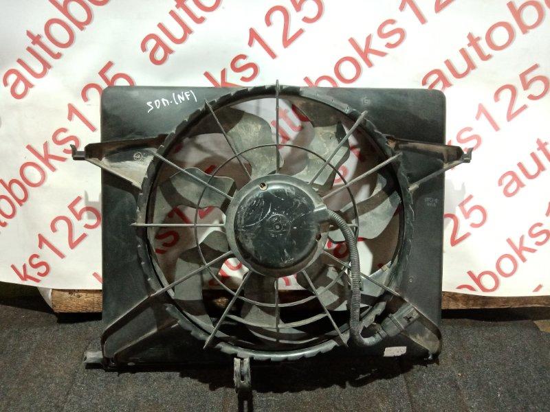 Диффузор радиатора двс Hyundai Sonata NF G4KA 2008