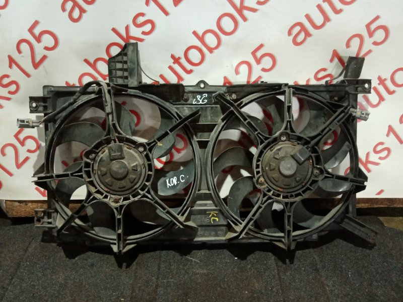 Диффузор радиатора двс Ssangyong Actyon CK D20DTF (671950) 2012