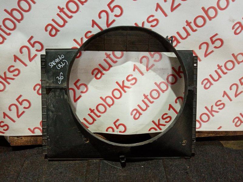 Диффузор радиатора двс Kia Sorento BL D4CB 2005