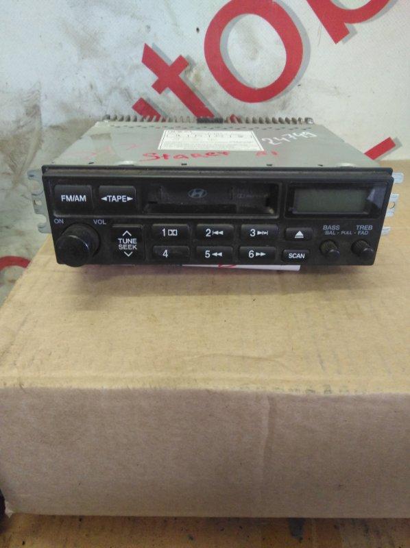 Магнитофон Hyundai Starex A1 D4CB 2005