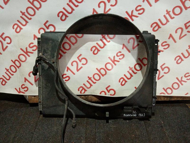 Диффузор радиатора двс Kia Sorento BL D4CB 2007