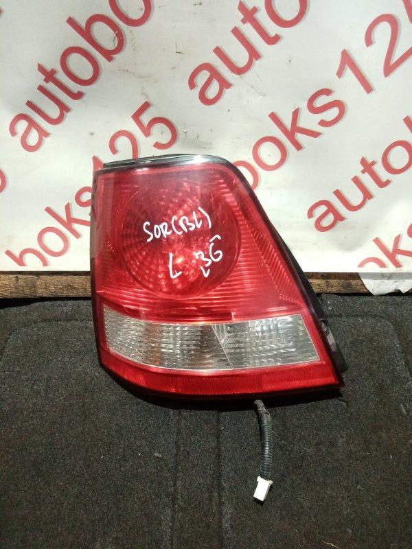 Стоп-сигнал Kia Sorento BL 2005 левый