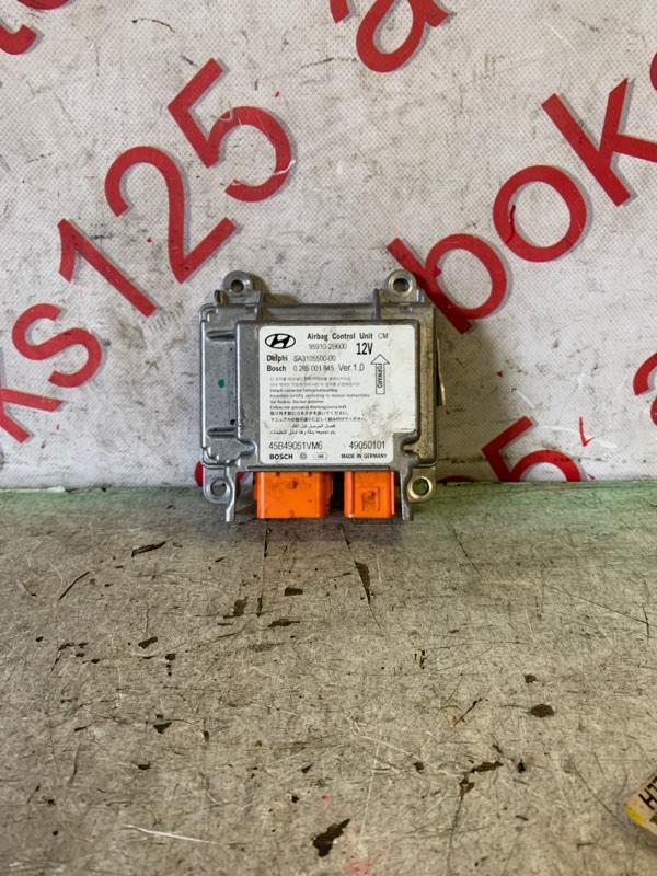 Блок управления аирбаг Hyundai Santa Fe CM D4EB 2009