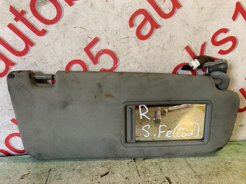 Козырек солнцезащитный Hyundai Santa Fe CM D4EB 2009 правый