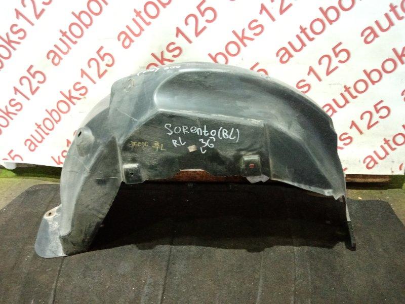 Подкрылок Kia Sorento BL 2005 задний левый
