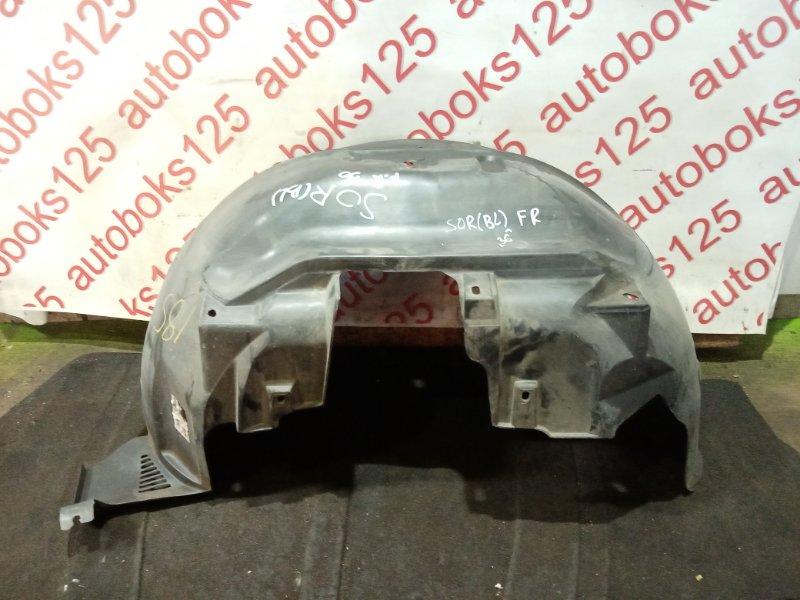 Подкрылок Kia Sorento BL 2005 передний правый