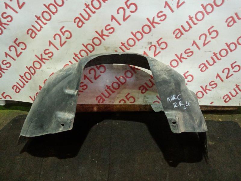 Подкрылок Ssangyong Actyon CK D20DTF (671950) 2012 задний правый