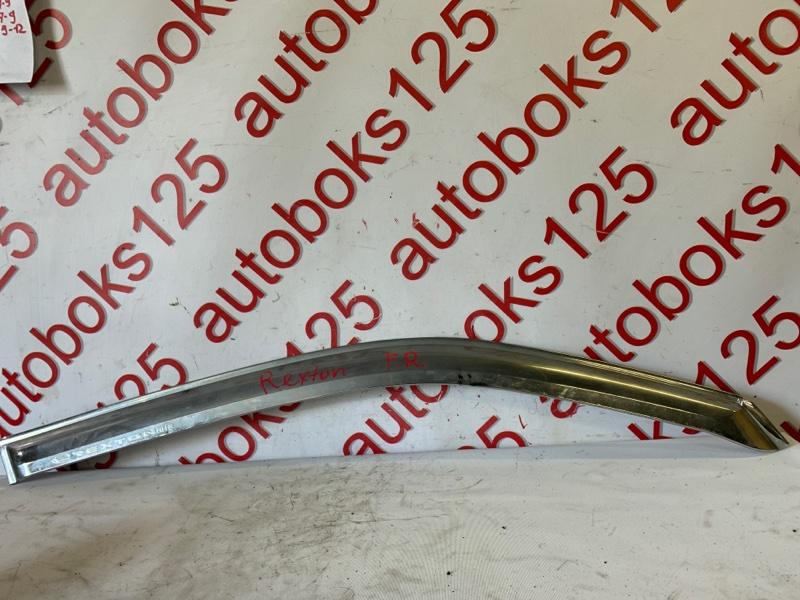 Ветровик Ssangyong Rexton RJN D27DTP 2008 передний правый
