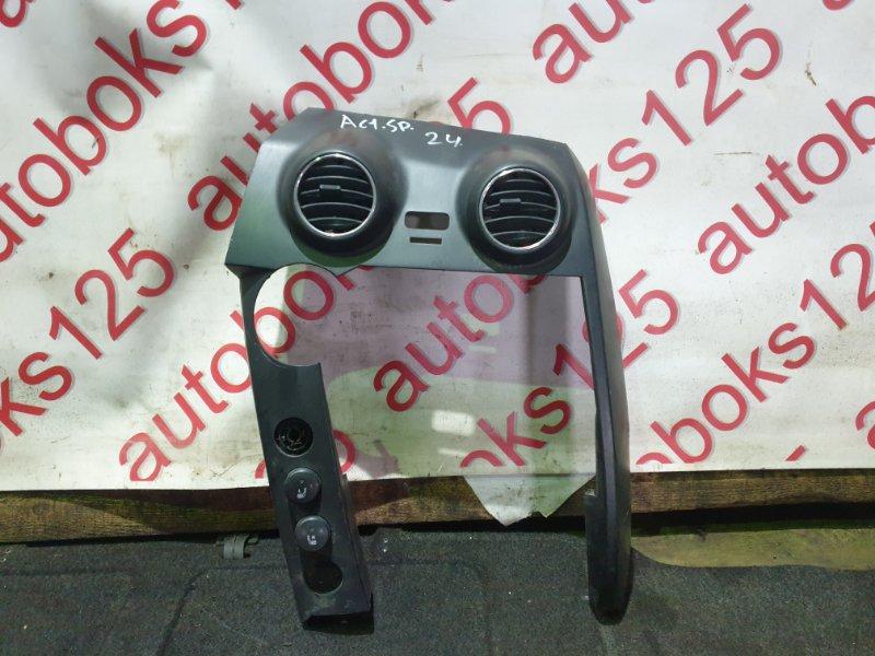 Консоль магнитофона Ssangyong Actyon Sports D20DT (664) 2007