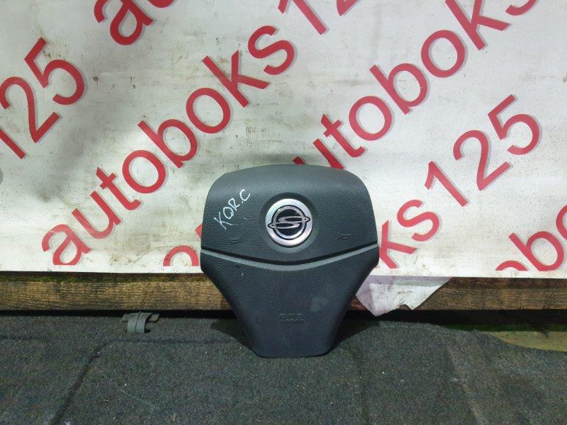 Подушка безопасности водителя Ssangyong Actyon CK D20DTF(671950) 2012