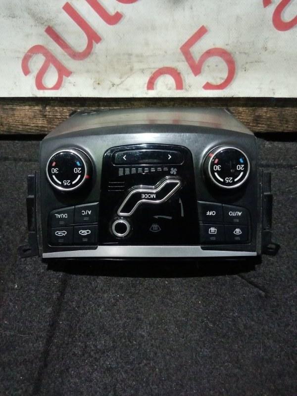 Блок управления климат-контролем Hyundai Sonata YF 2013
