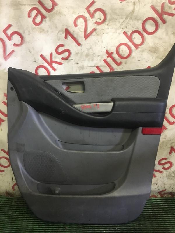Обшивка двери Hyundai Grand Starex TQ D4CB 2009 передняя правая