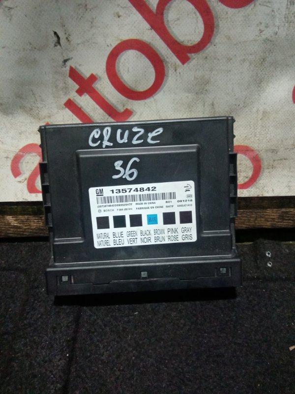 Блок комфорта Chevrolet Cruze J300 F18D4 2010