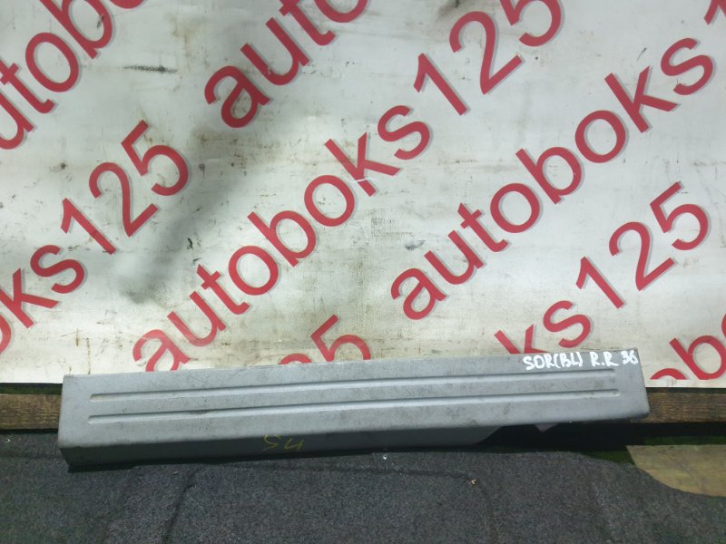 Накладка на порог Kia Sorento BL D4CB 2007 задняя правая