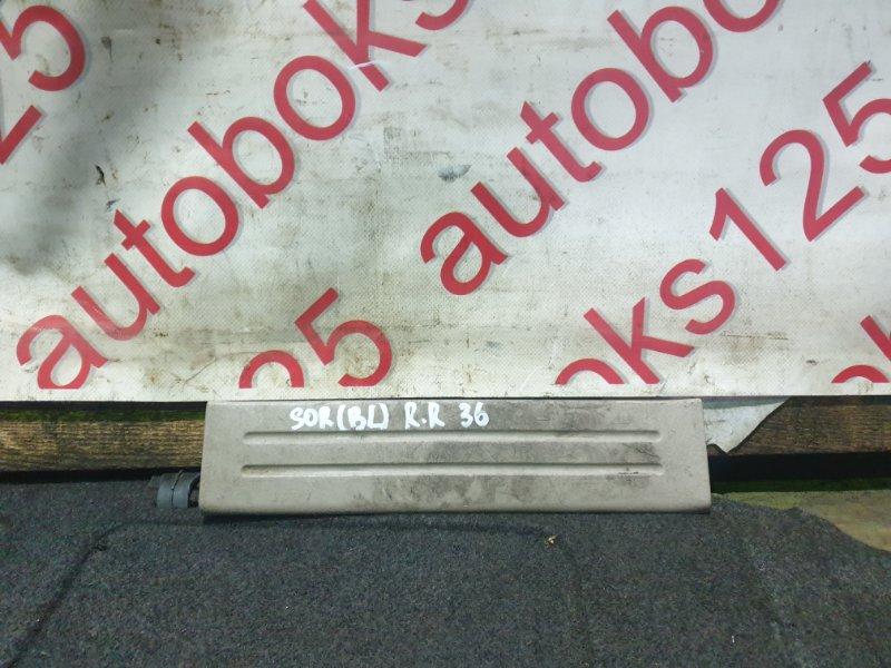 Накладка на порог Kia Sorento BL D4CB 2005 задняя правая