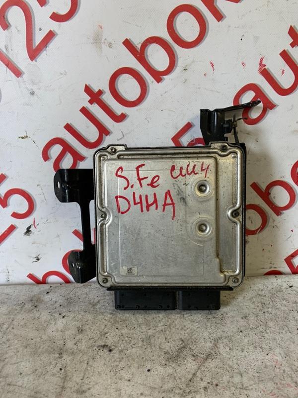 Блок управления двигателем Hyundai Santa Fe CM D4HA 2011